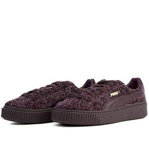 Puma Suede Elemental Platform Sneakers